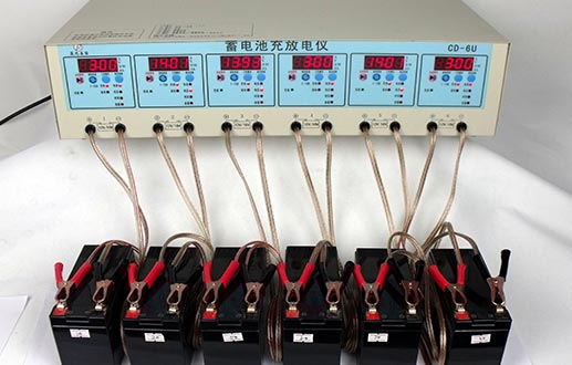 CD-6U充电-7Ah 蓝光UPS蓄电池检测图