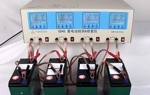 CD4S-20Ah电动车电池应用案例 蓝光电动车电池检测仪修复仪