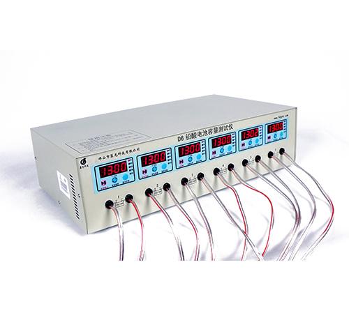 蓝光6路电动车电池放电检测仪D6